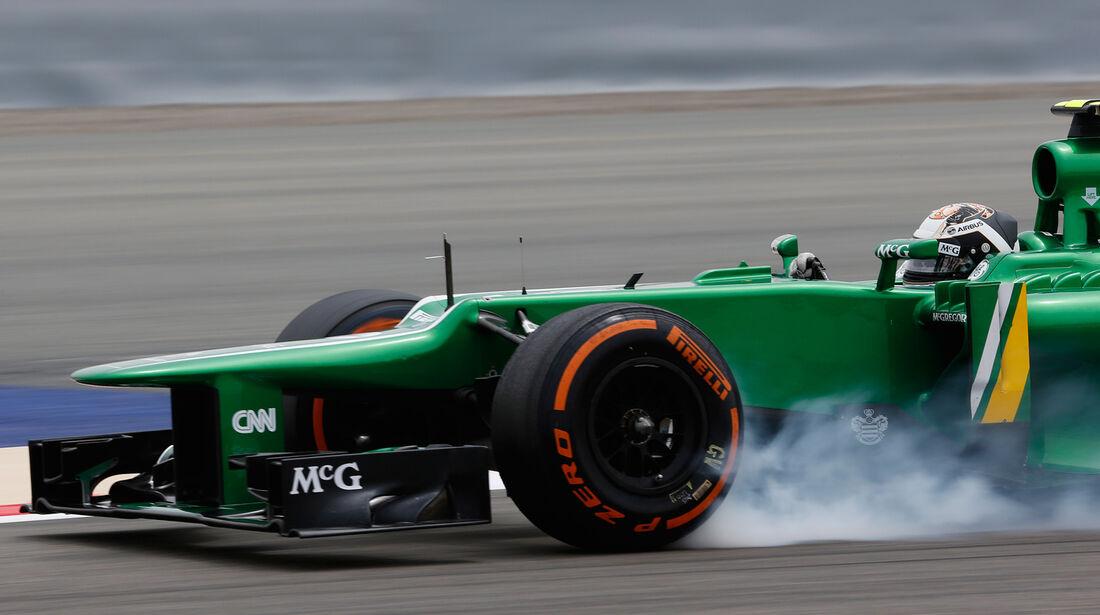 Giedo van der Garde - GP Bahrain 2013