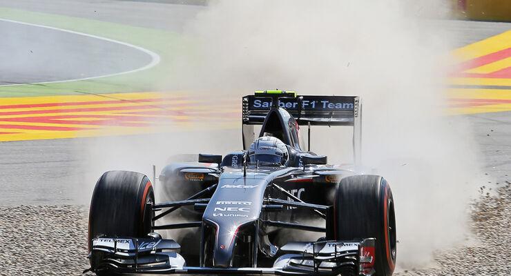 Giedo van der Garde - Sauber - Formel 1 - GP Spanien - Barcelona - 9. Mai 2014