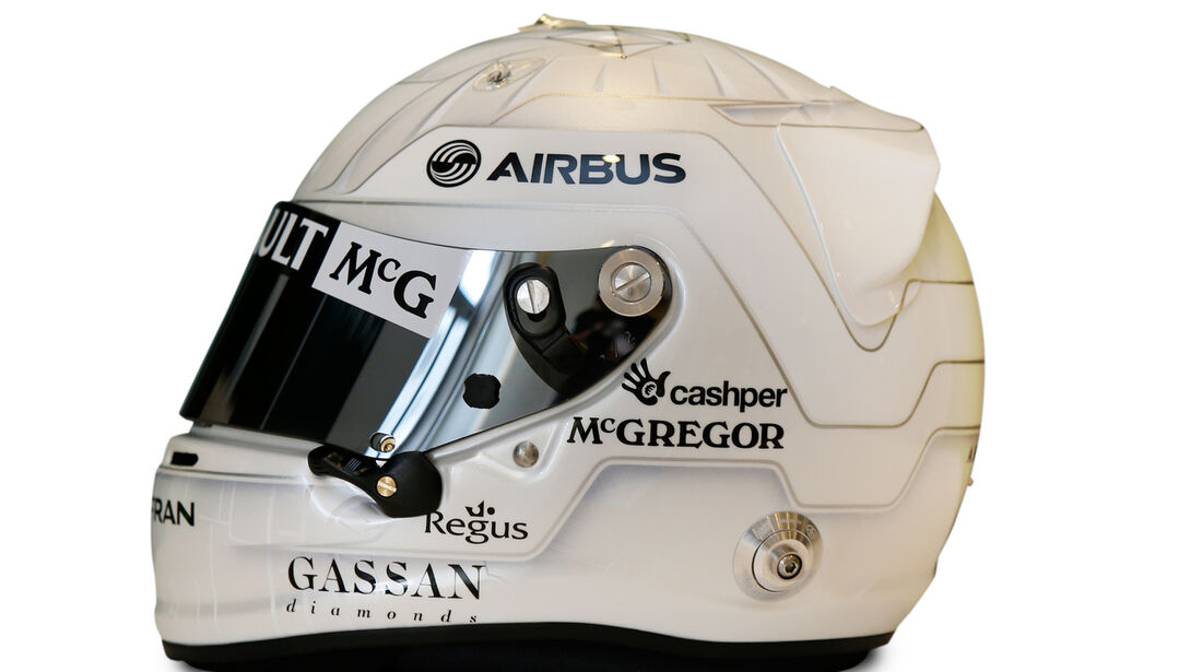 Giedo van der Garde - Singapur Helm 2013
