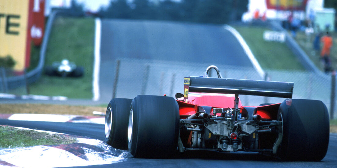 Gilles Villeneuve 1979 GP Belgien Zolder