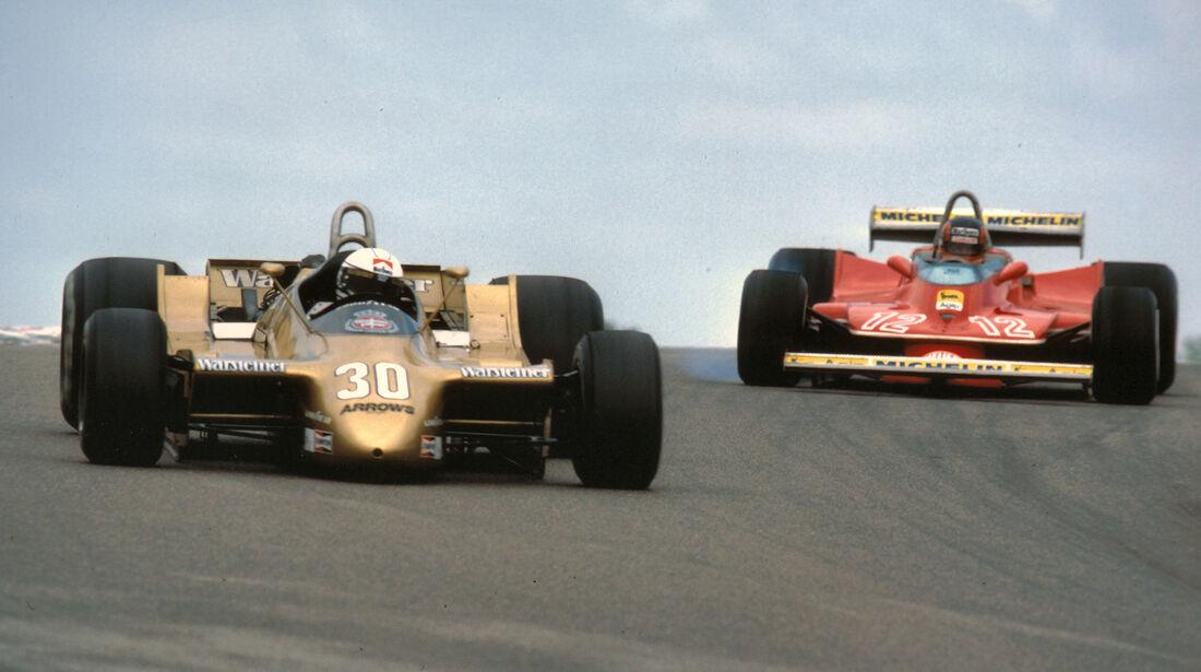 Gilles Villeneuve & Jochen Mass GP Frankreich Dijon 1979