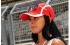 Girl - GP Ungarn - Budapest - Formel 1 - 22. Juli 2016