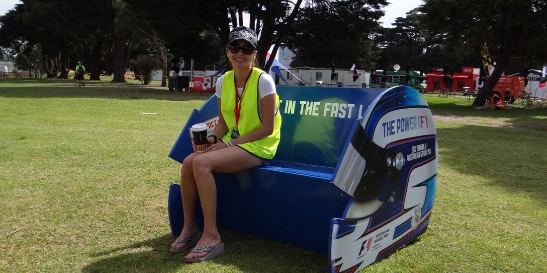 Girl - Impressionen - GP Australien - 14. März 2012