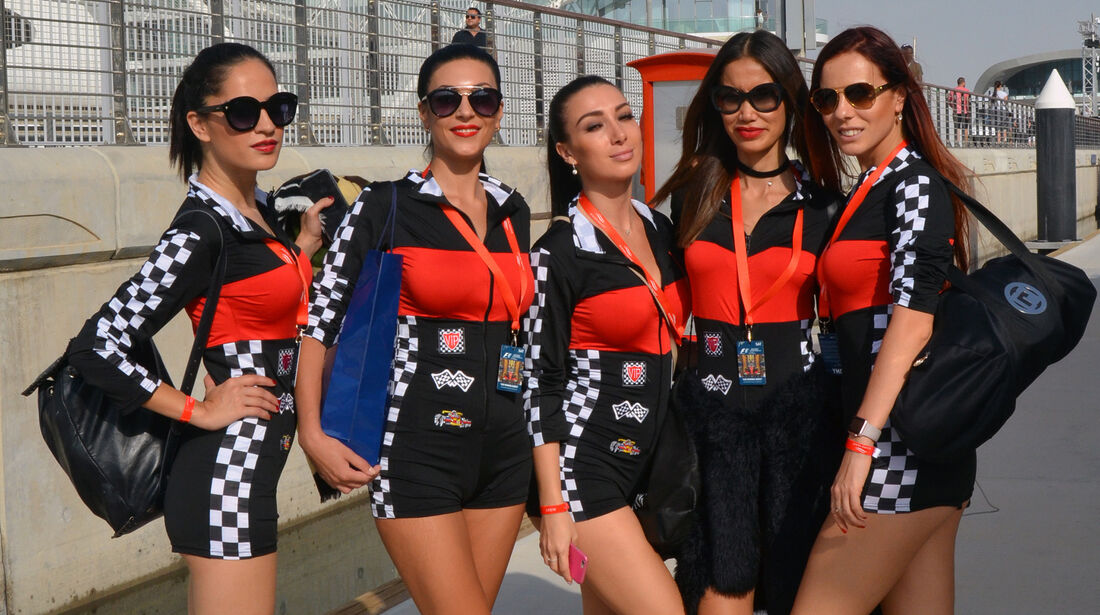 Girls - Formel 1 - GP Abu Dhabi - 26. November 2016