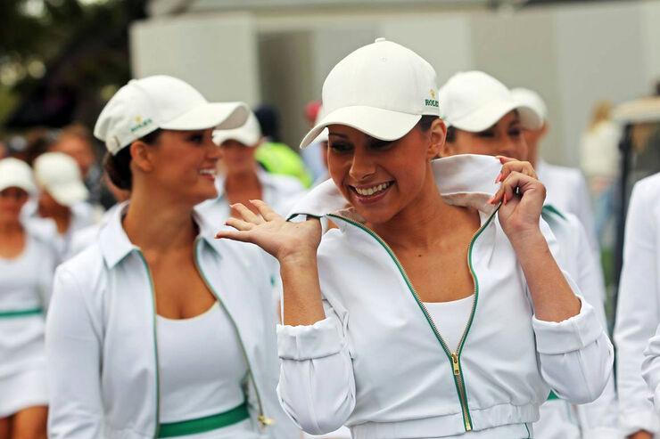 Girls - Formel 1 - GP Australien - 16. März 2014