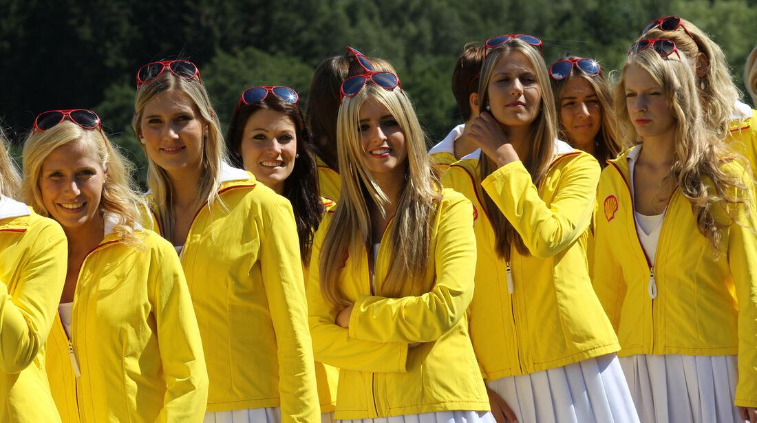 Girls - Formel 1 - GP Belgien - Spa-Francorchamps - 1. September 2012