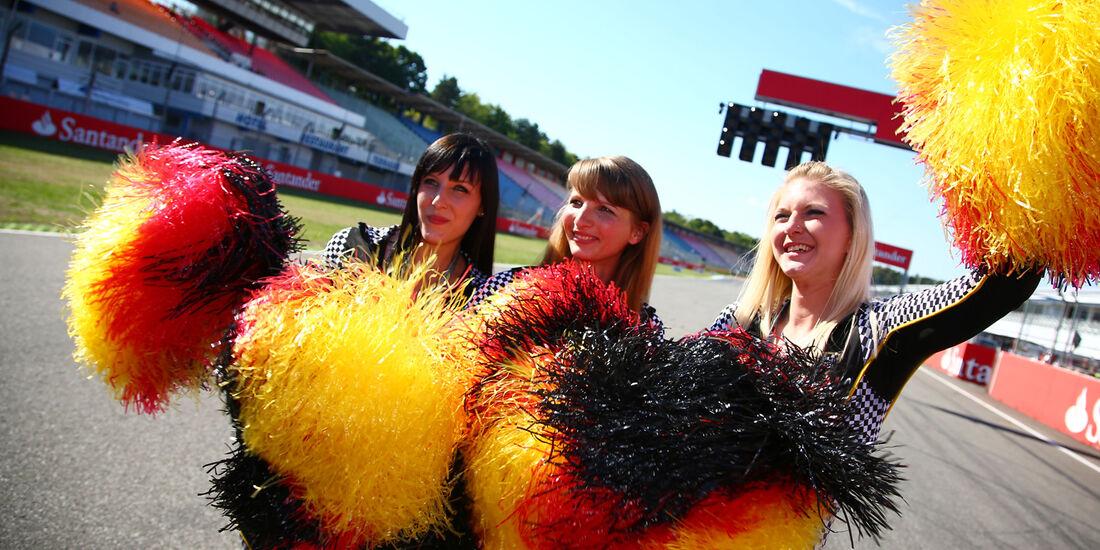 Girls - Formel 1 - GP Deutschland - Hockenheim - 17. Juli 2014