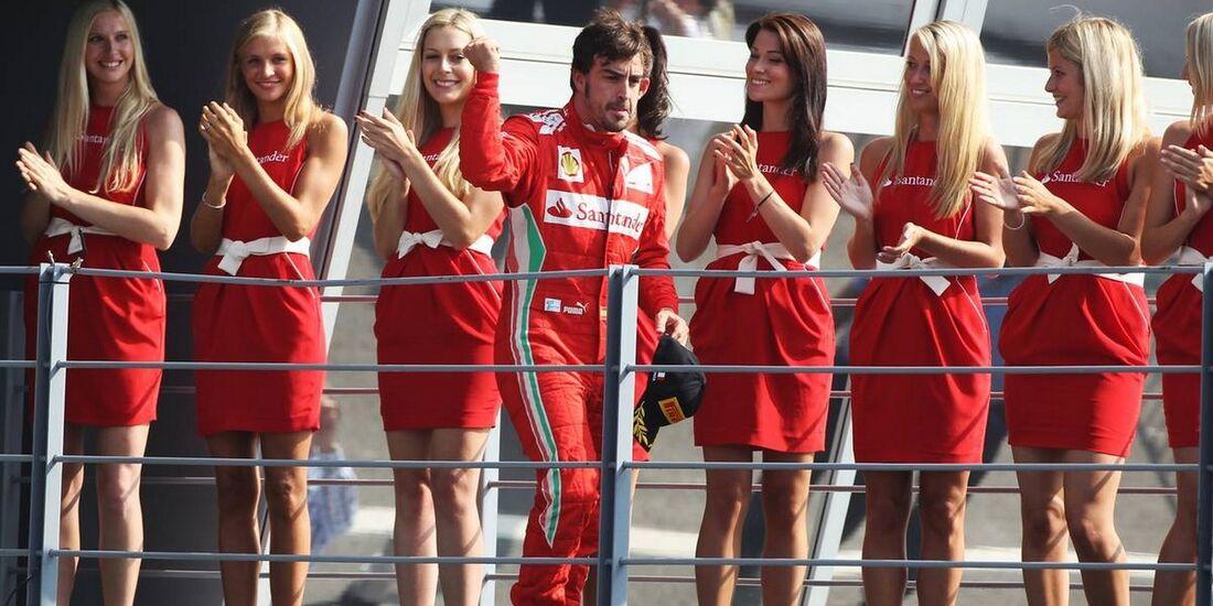 Girls  - Formel 1 - GP Italien - 09. September 2012