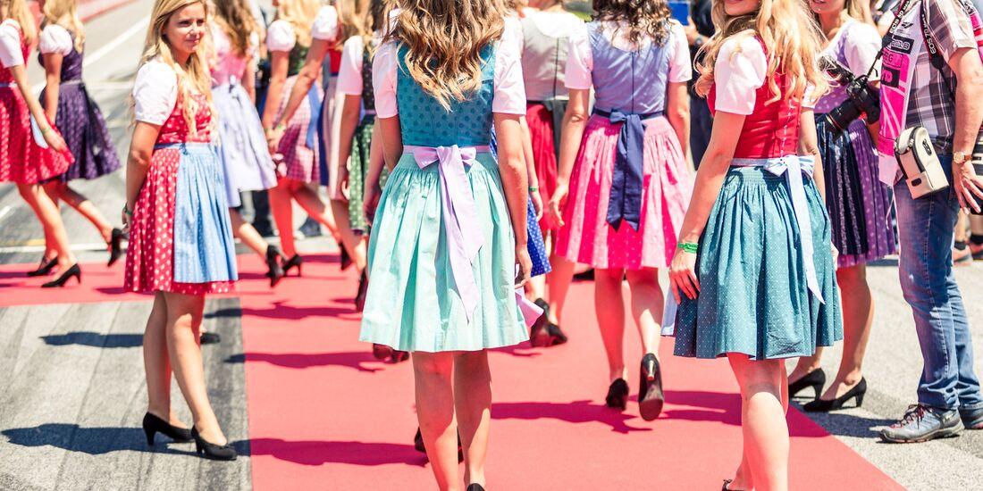 Girls - Formel 1 - GP Österreich - 1. Juli 2018