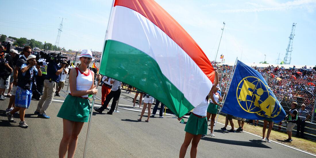 Girls - Formel 1 - GP Ungarn 2013
