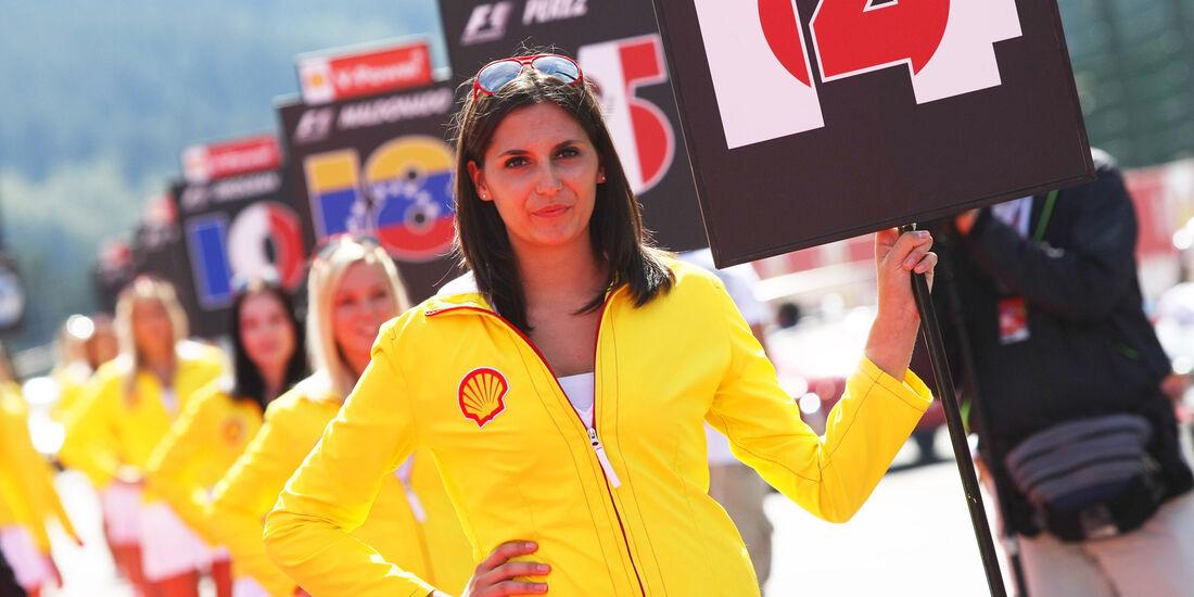 Girls - GP Belgien 2012