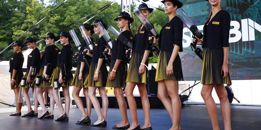 Girls - GP Ungarn - Budapest - 28. Juli 2017