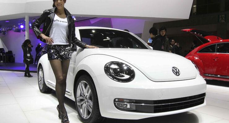 Girls auf der Tokyo Motor Show 2011