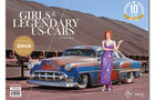 Girls & legendary US-Cars 2018 von Carlos Kella