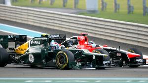 Glock vs. Petrov GP Abu Dhabi 2012