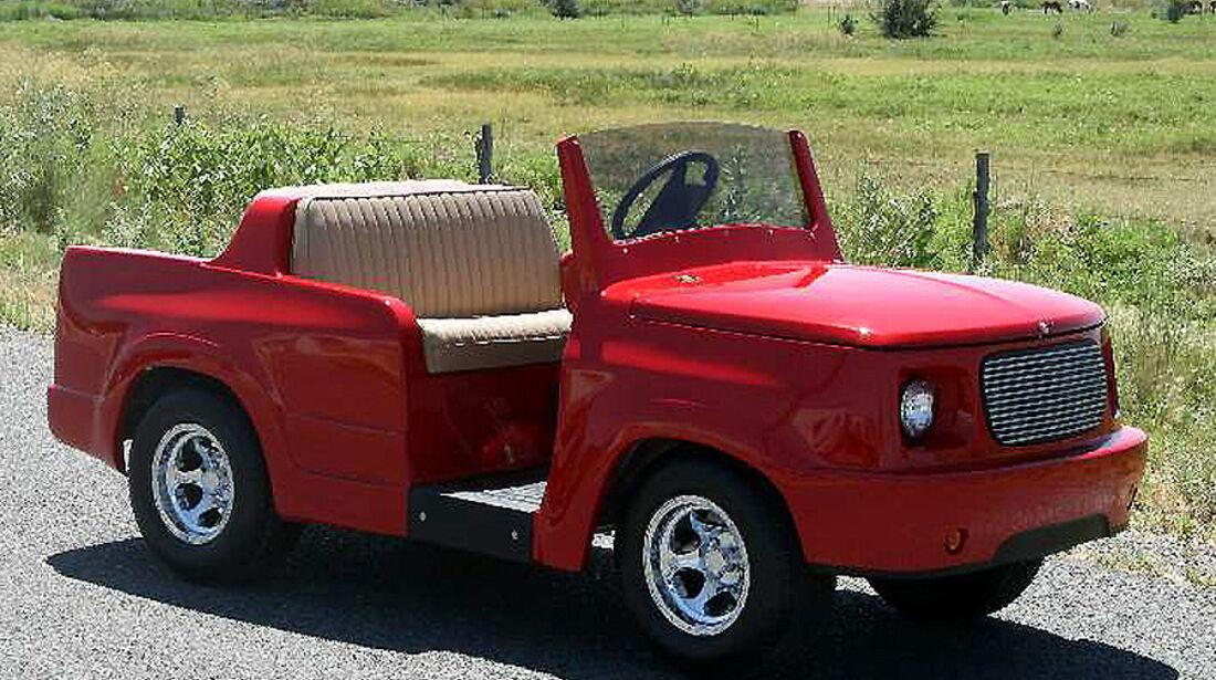 Golf Car Retro