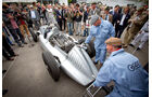 Goodwood Revival Meeting, Silberpfeil, Boxengasse