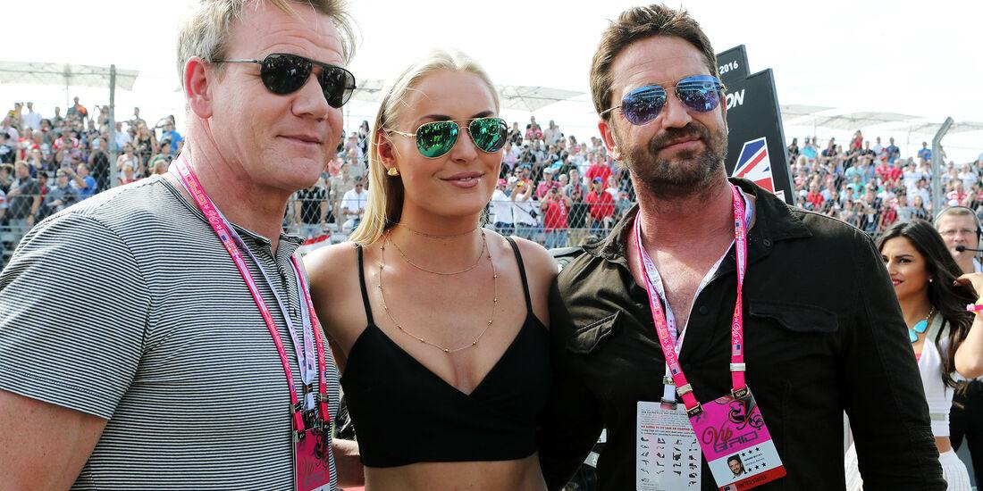 Gordon Ramsey, Lindsay Vonn & Gerard Butler - GP USA 2016