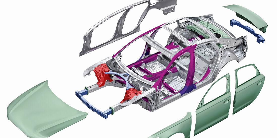 Grafik, Fahrzeugteile