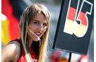 Grid Girl - Formel 1 - GP Deutschland 2013