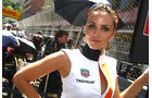 Grid Girl Formel 1 GP Monaco 2011