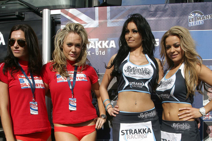 Grid Girl - Le Mans-Serie - Silverstone - 11. September 2011