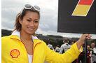 Grid Girl Rennen GP Belgien 2011