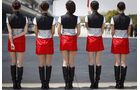 Grid Girls Formel 1 GP China 2011