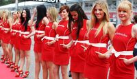 Grid Girls - Formel 1 - GP Deutschland - 22. Juli 2012