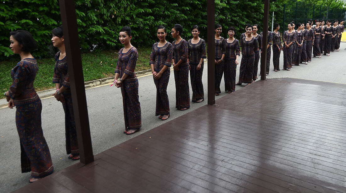 Grid Girls - Formel 1 - GP Singapur - 17. September 2016