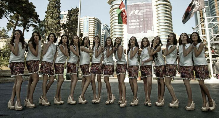 Grid Girls - GP Aserbaidschan 2017 - Baku