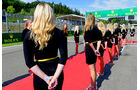 Grid Girls - GP Belgien 2016