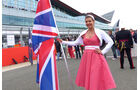 Grid Girls - GP England 2014
