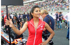 Grid Girls - GP Indien 2055