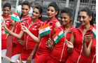 Grid Girls - GP Indien 2058