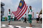 Grid Girls - GP Malaysia 2014 - Formel 22