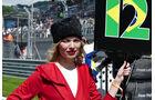 Grid Girls - GP Russland 2016 - Sochi