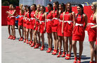 Grid Girls GP Spanien 2011