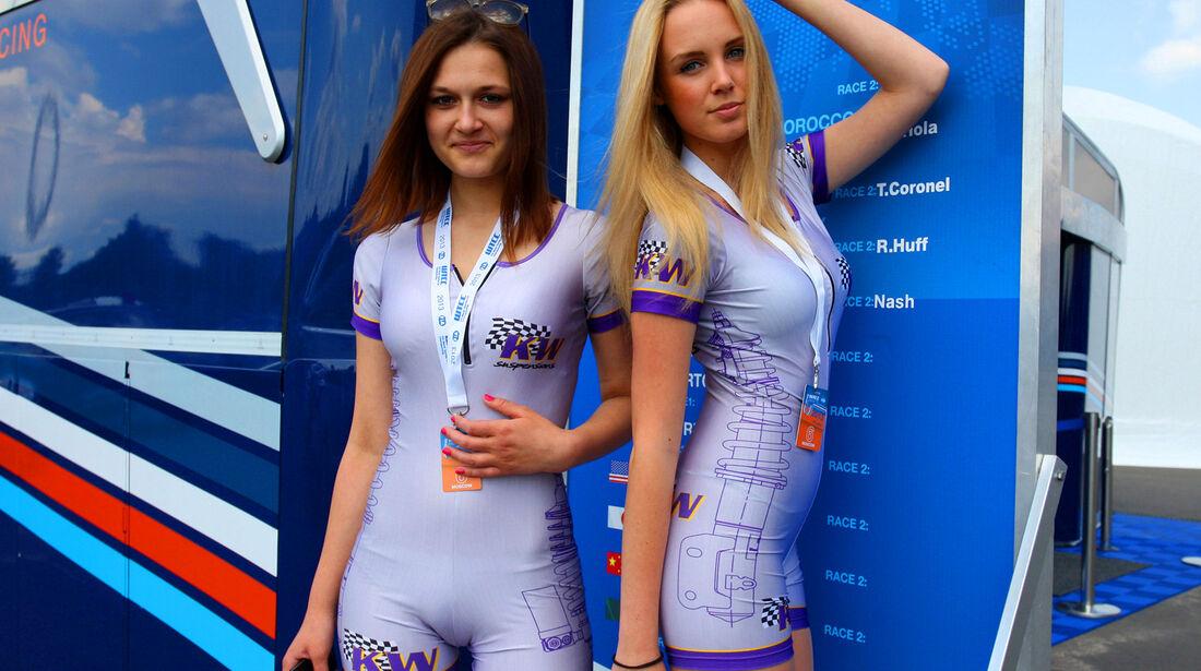 Grid Girls - WTCC - Moskau 2013