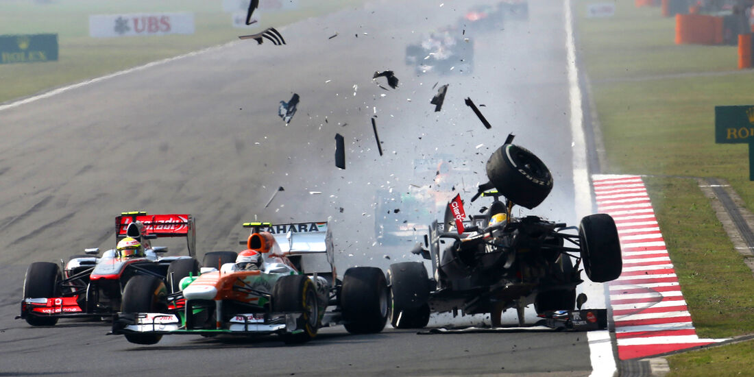 Gutierrez - GP China - Crash - 2013