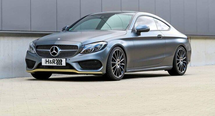H&R Mercedes-Benz C-Klasse-Coupé