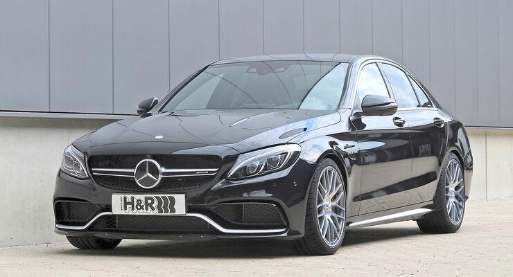 H&R Mercedes C 63 AMG