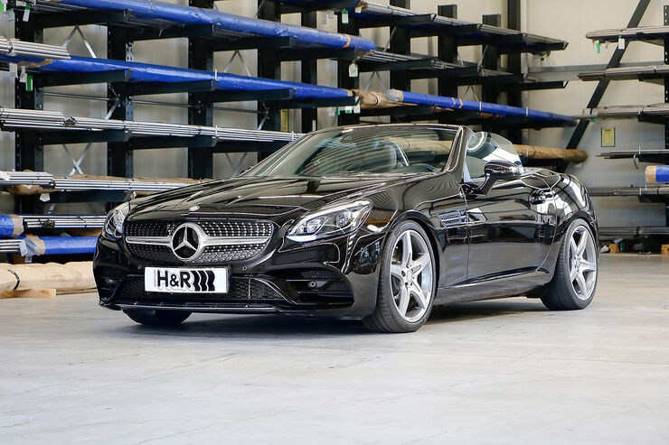H&R Mercedes SLC