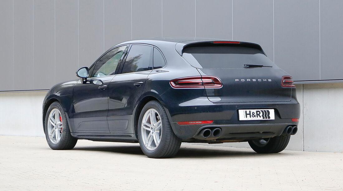 H&R Porsche Macan Turbo