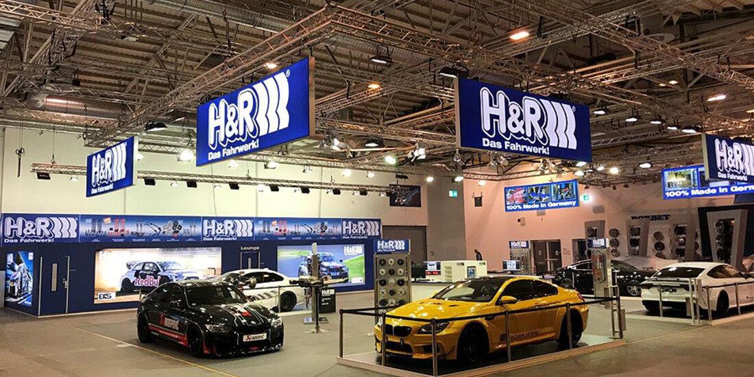 H&R auf der Essen Motor Show 2018