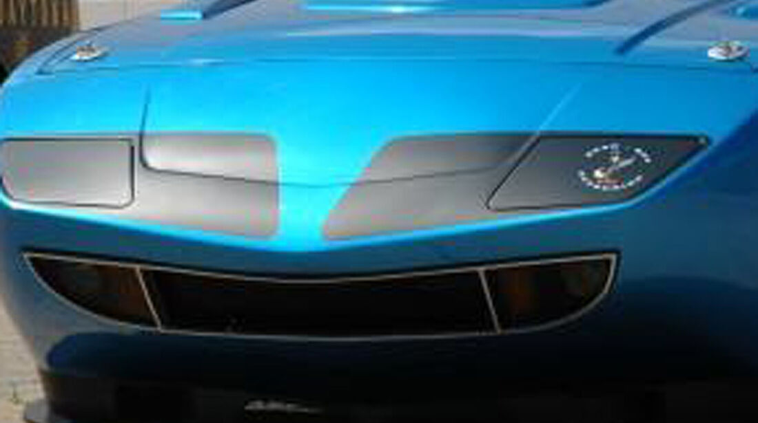 HPP Plymouth Superbird, Dodge Challenger, Front