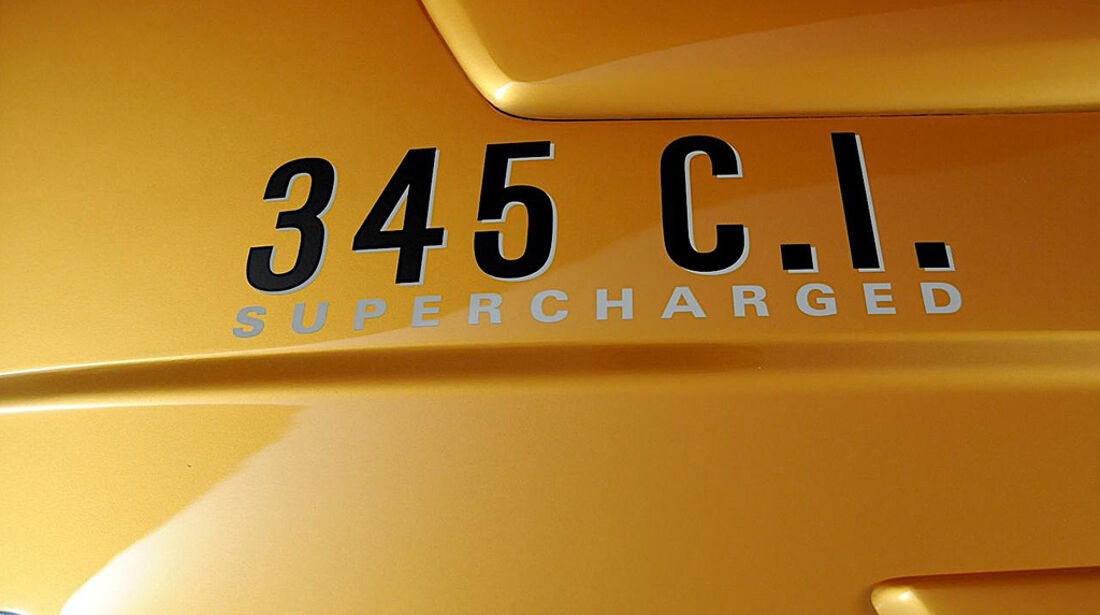 HPP Plymouth Superbird, Dodge Challenger, Motorhaube