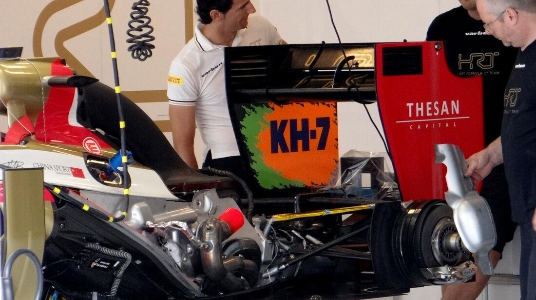 HRT F1 - Formel 1 - Budapest - GP Ungarn - 26. Juli 2012