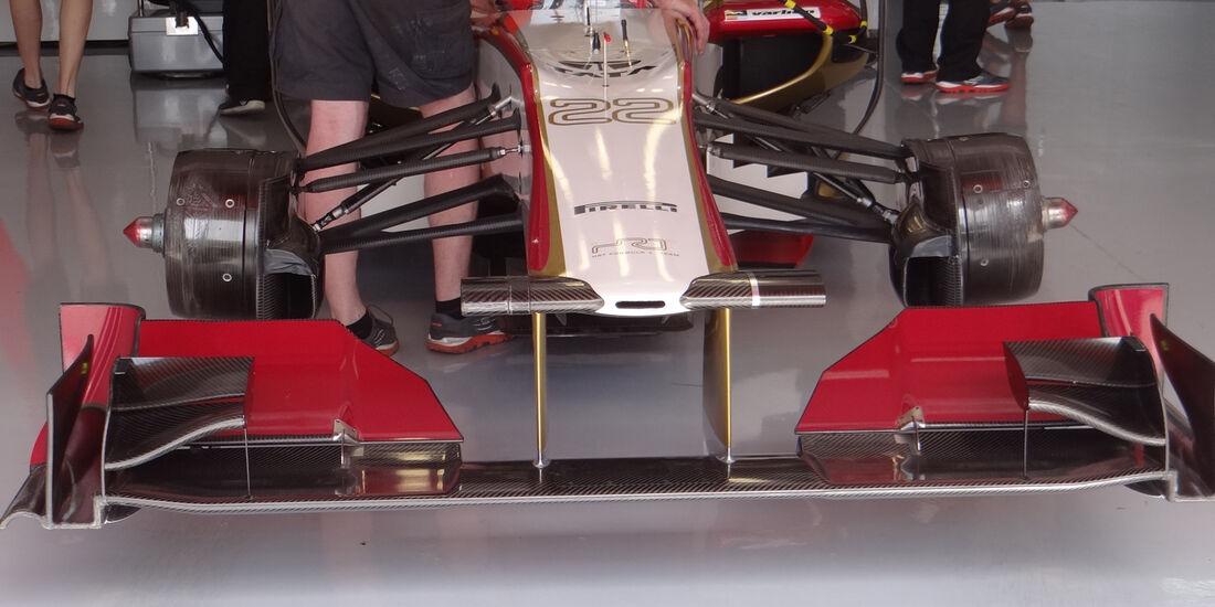 HRT Formel 1 Technik GP Spanien 2012
