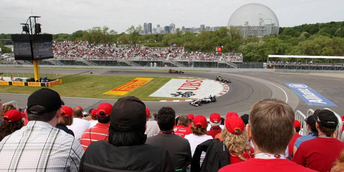 Haarnadel GP Kanada 2011
